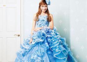 あの、人気タレントも作ってる♡おしゃれな芸能人やモデルさんが作ったウェディングドレス*実はこんなに可愛いんです♩