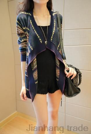 Find More Cardigans Information about sweater women regular computer knitted full pullover cardigans 2014 new spring women's cardigan korean female winter coat shirt,High Quality coat girl,China blouse satin Suppliers, Cheap coated plastic from Jianhang trade on Aliexpress.com