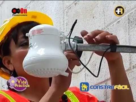 M s de 25 ideas incre bles sobre duchas electricas en for Como instalar una ducha electrica