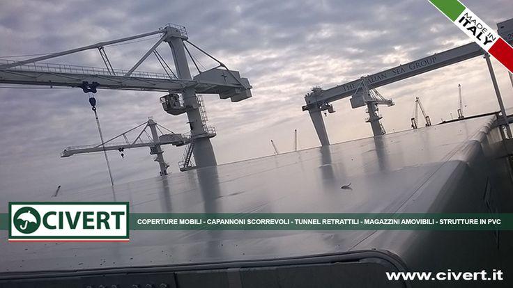 Copertura scorrevole Civert per NCA - Nuovi Cantieri Apuana / The Italian Sea