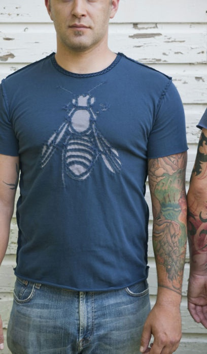 must have this Alabama Chanin Bee T-shirt.  I'll also accept the rooster.