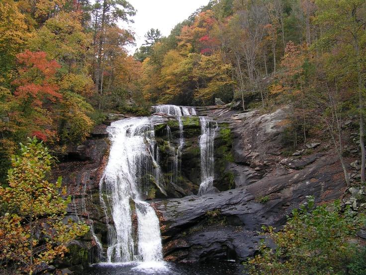 Fall Beauty, Bald River Falls, Tellico Plains TN River