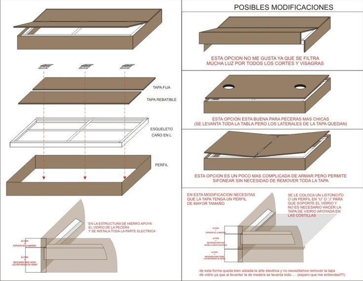 M s de 25 ideas incre bles sobre muebles para peceras en - Peceras de diseno ...