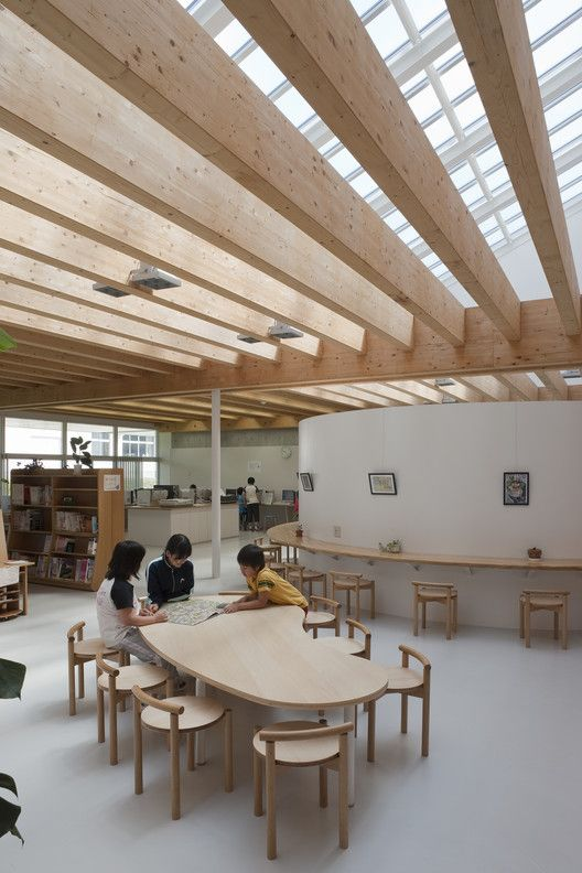 Itoi Elementary School,© Shinkenchiku-sha