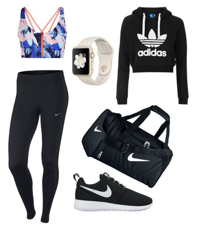 """""""Sport🏆🏅"""" by polyvorefashionxox ❤ liked on Polyvore featuring Sweaty Betty, NIKE and Topshop"""