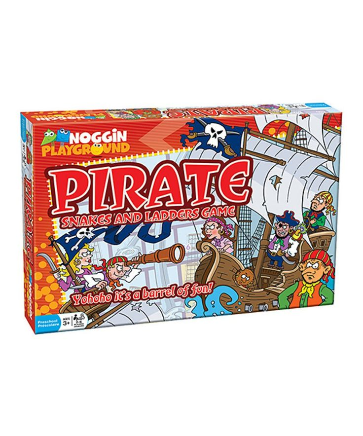 Take a look at this Pirate Snakes & Ladders Game today!