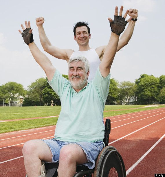 Running with the disabled