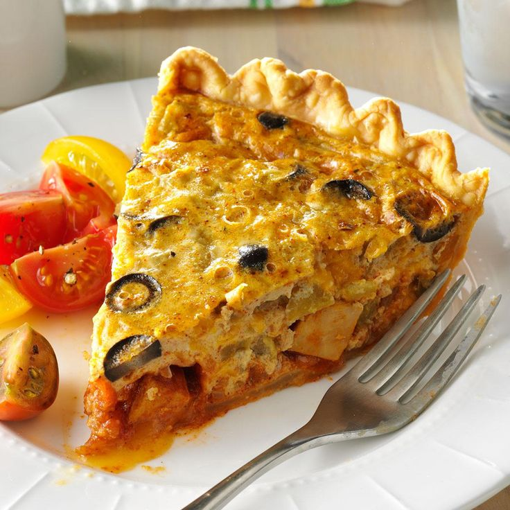 Chicken Taco Quiche Recipe -I wanted to make a quiche but didn't want the usual flavors, so I used ingredients I had in my pantry and refrigerator to…