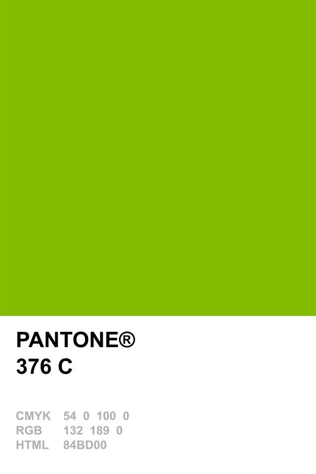 Pantone 376 C