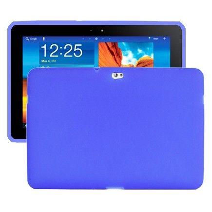Soft Shell (Blå) Samsung Galaxy Tab 10.1 P7500 Deksel