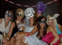 Masquerade Bachelorette Party? hmmm... sounds kinda FUN!