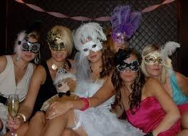 Masquerade Bachelorette Party? hmmm... sounds kinda FUN!