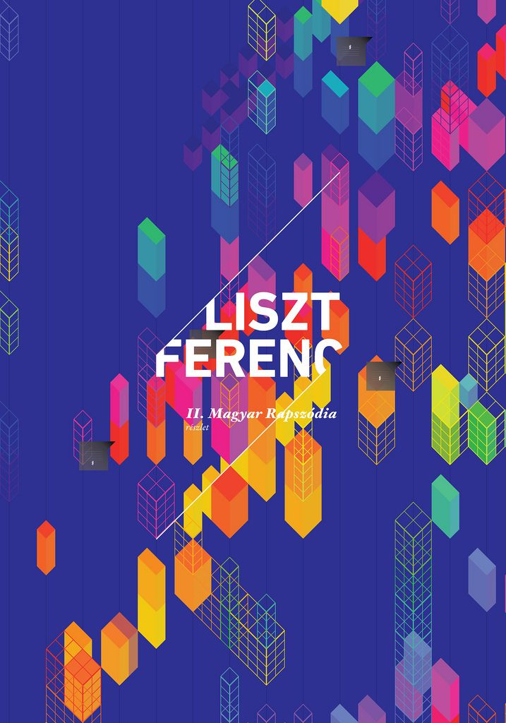 Music visualisation (Ferenc Liszt - Hungarian Rapsody No. 2.), Márton Borzák, via Flickr
