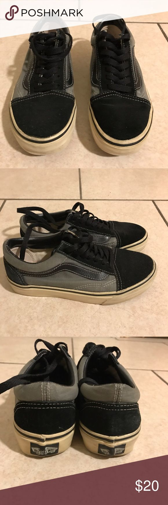 Used Vans Used Vans, they were my personal shoes. Pretty great condition for being used! Vans Shoes Sneakers