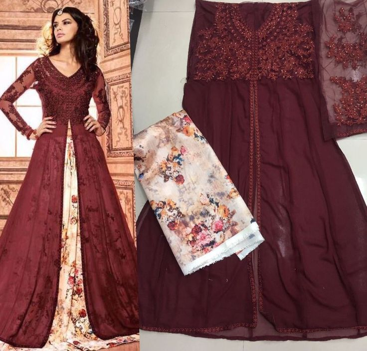 Anarkali Indian Pakistani Designer Bollywood Salwar Kameez Dress Ni MIS 04.