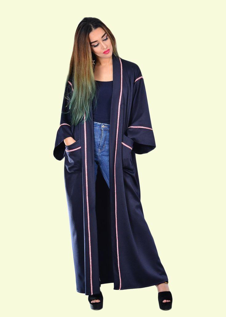 MUSK NAVY MAXI KAFTAN    #bohochic #kaftan #fashion #moroccanstyle #resort2018 #handmade fashion #ethicalfashion #luxurykaftan #boholuxe #milsouls #maxidress #bohodress #sundress #bohemianstyle #caftan #beachwear #swimsuit #cover