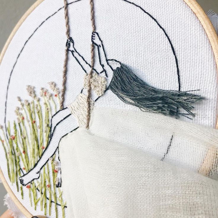 "78 Likes, 6 Comments - Ceren (@kayra.handmade) on Instagram: ""Progress shot on my current wipBreeziness continues . . . #kayrahandmade #embroidery…"""