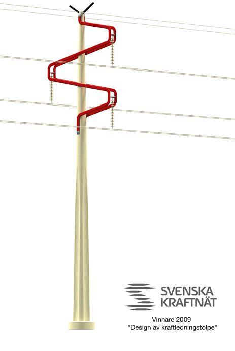 Power pole design By Shift Design & Strategy www.shiftdesign.se