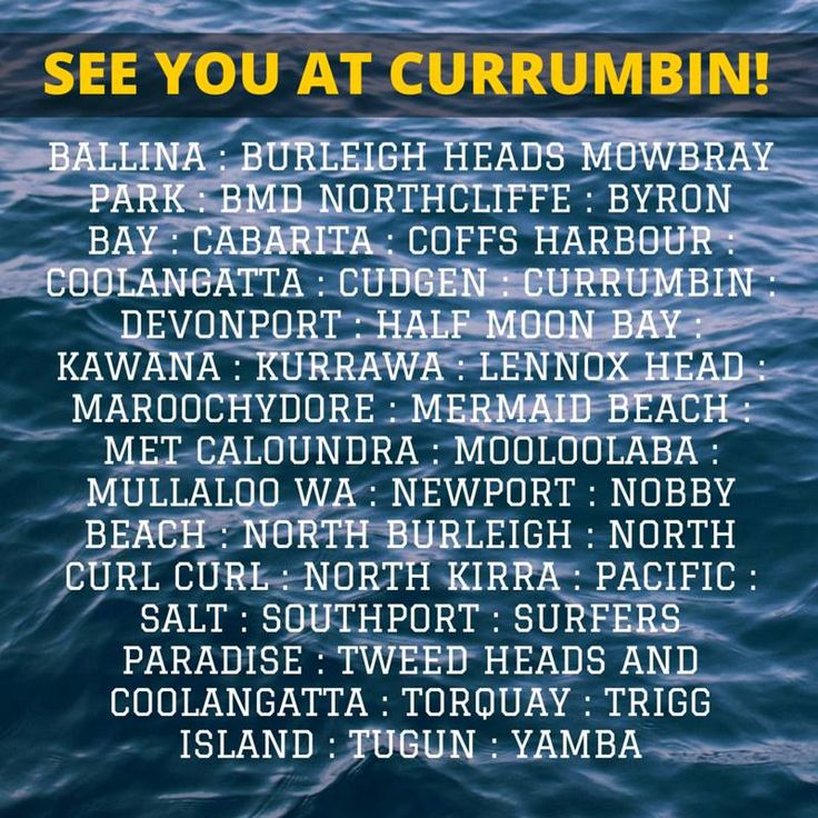 Want to know who is coming to Currumbin tomorrow? We are going to be seeing so many of you from all over Australia, some from far away! It's going to be an exciting day! Tag your club if you can see it on here.