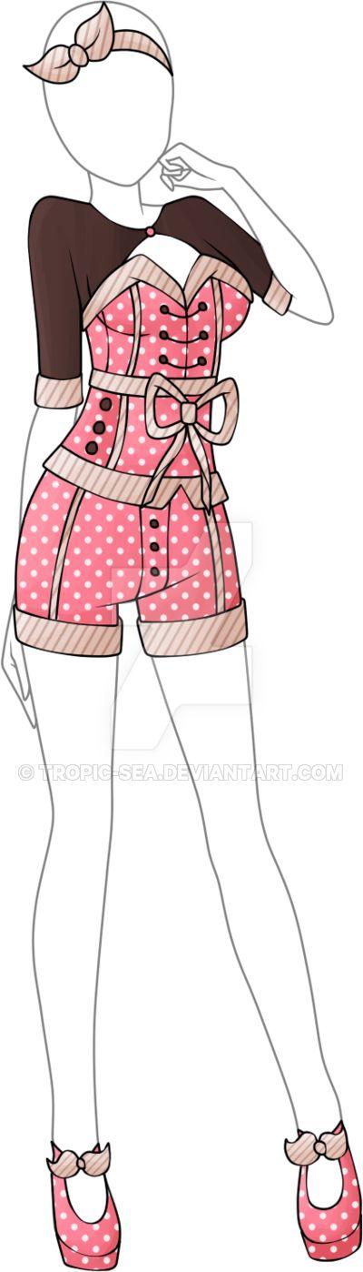 Dress Adoptable 04 - Closed by Tropic-Sea.deviantart.com on @DeviantArt