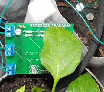 "Garduino is a computer that runs your garden. ""Specifically, Garduino: waters your plants when they're thirsty, turns on supplemental lights when the sun's not out long/bright enough, alerts you when temperatures are botanically uncomfortably chilly."" Kits from $19.99"