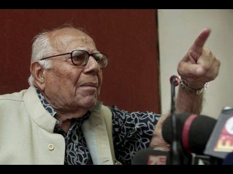 Ram Jethmalani demands Nitin Gadkari's resignation - NewsX..... A day after senior leader Mahesh Jethmalani resigned from BJP's national executive...citing corruption charges against Nitin Gadkari...rumblings against the BJP President have only grown louder within the BJP. Now BJP MP Ram Jethmalani... who is a known Gadkari baiter...stirred up a hornet's nest...by hinting that he was not alone in wanting Gadkari to resign as BJP President.