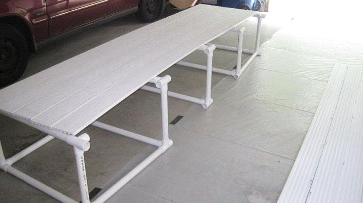 DIY in pool platform