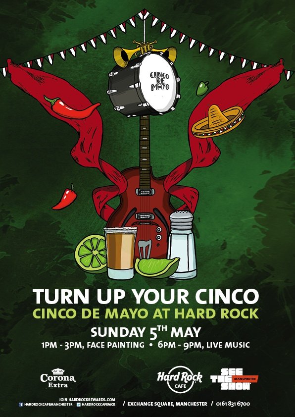 Dust off your sombrero, don your poncho and bring your pinata to the fiesta! Fancy dress is optional, our staff will be getting into the spirit and we'll be giving away spot prizes for the best dressed! Why not join us for a Margarita or two?! #mexican #party #Manchester #cincodemayo