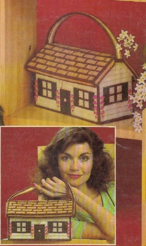 Sew Lovely Embroidery: Plastic Canvas House Purse...