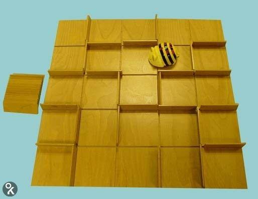 Bee-Bot houten doolhof