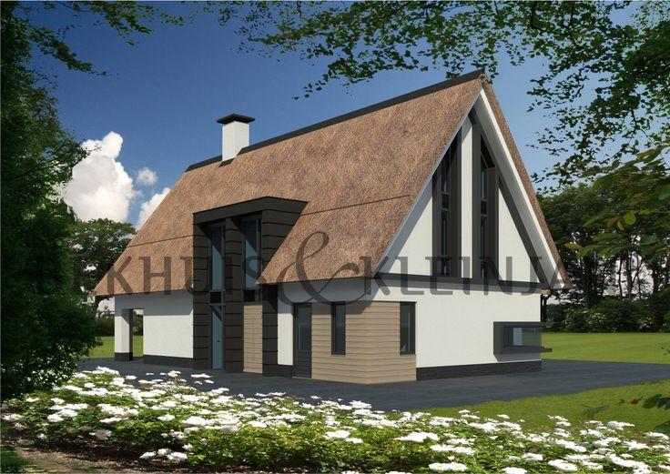 Meer dan 1000 idee n over traditioneel huis plannen op pinterest huisplattegronden - Deco moderne woning ...