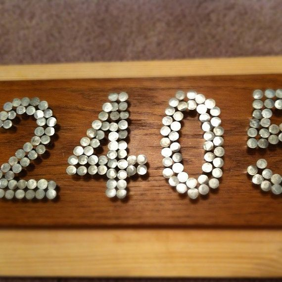 60 Best House Numbers Diy Images On Pinterest Diy House