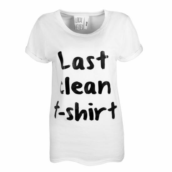 LAST CLEAN T-SHIRT