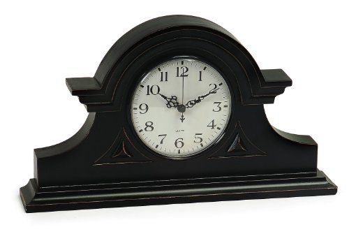 IMAX Black Mantel Clock  #Black #Clock #IMAX #Mantel #RusticMantelClock The Rustic Clock