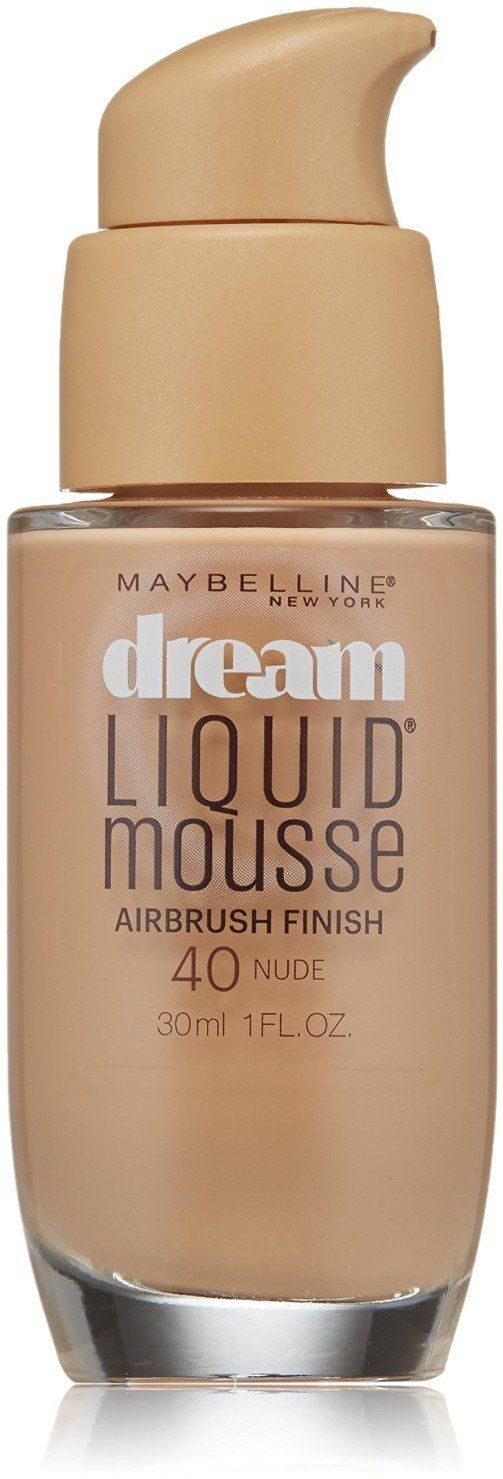 Maybelline Dream Liquid Mousse Airbrush Foundation, Nude Light [4] 1 oz (Pack of 2) -- Want additional info? Click on the image.