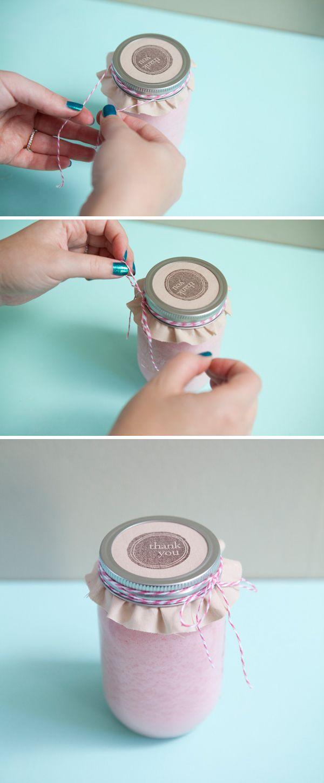 DIY | poured mason jar candle » Something Turquoise {daily bridal inspiration}