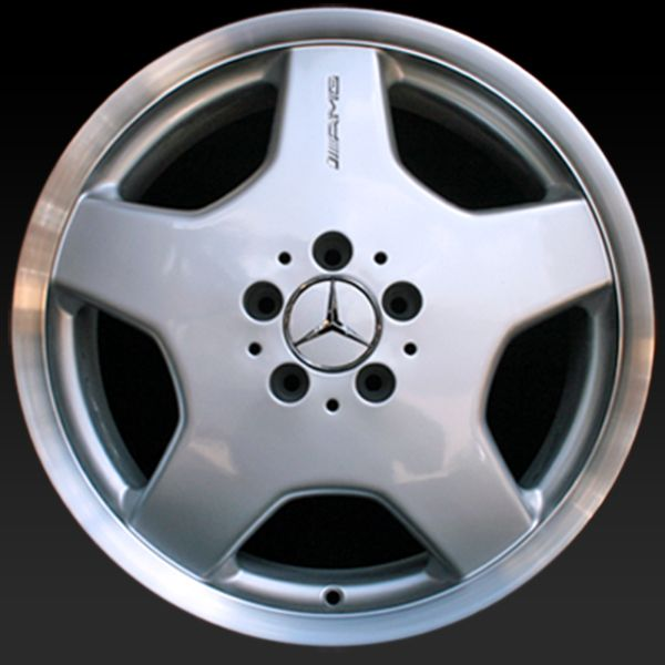 Mercedes wheels for sale 2000 2002 18 amg silver for Mercedes benz rims for sale