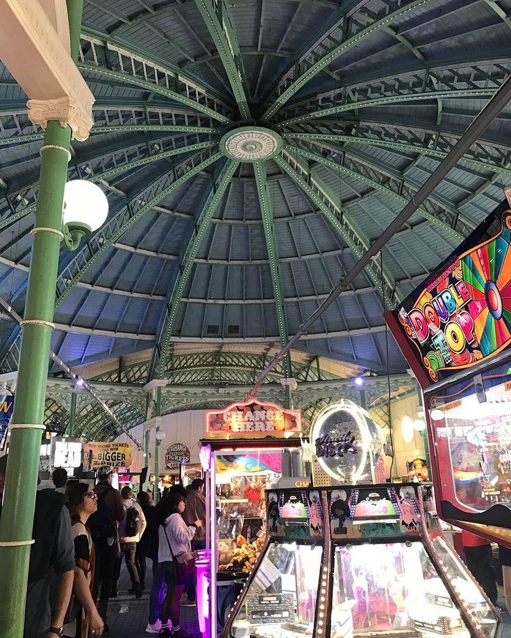 Old arcade on Brighton Palace Pier #arcade #brighton #brightonpalacepier #brighton_ig #brightonpier