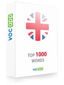Las 1000 palabras más importantes en inglés