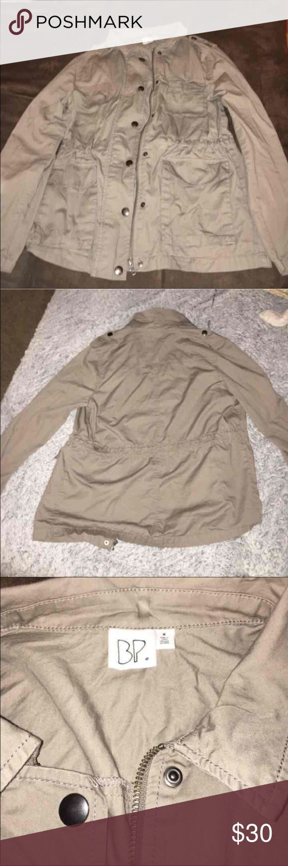Army Style Jacket Nordstrom's BP Tan colored Army Style Jacket size Medium bp Jackets & Coats