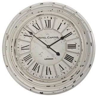 Hotel Capitol round wall clock.