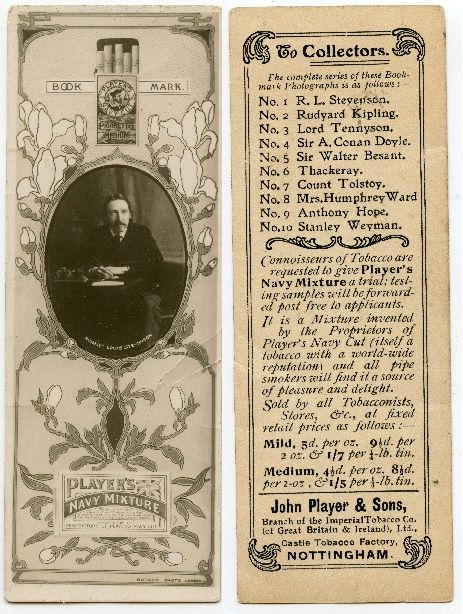 John Players - No1 Robert Louis Stevenson