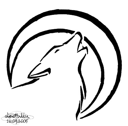 wolf tattoo.  Wolf clan tat idea.  DEFINATELY GETTING THIS!!  I am a member of the wolf clan.