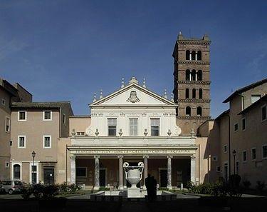 Iglesia de Santa Cecilia, Roma Italia