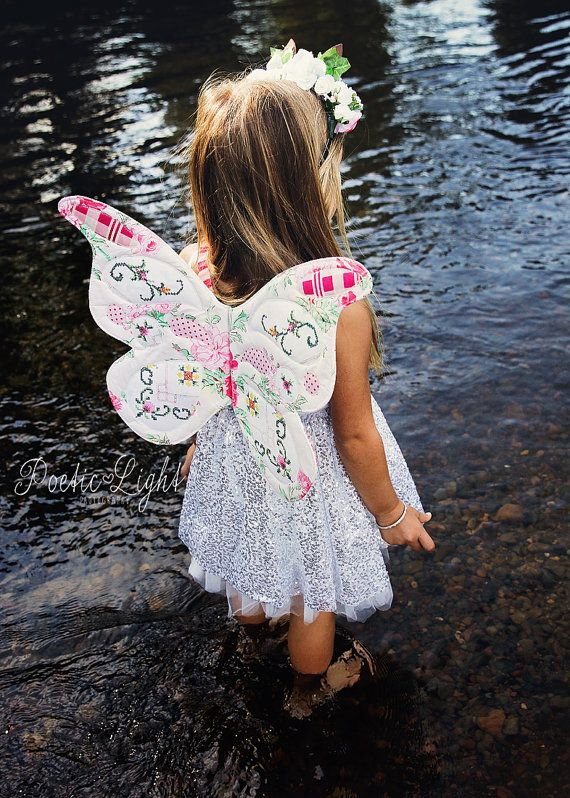 Butterfly Wings Pattern, Wife-made, PDF Pattern & Tutorial, Children, Ages 2…