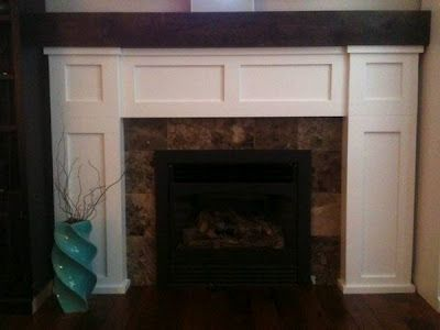 DIY mantel and fireplace surround - 49 Best Diy Mantels Images On Pinterest