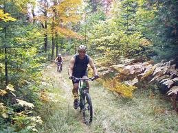 Mountain Biking trails are well developed in Carrabassett Valley.