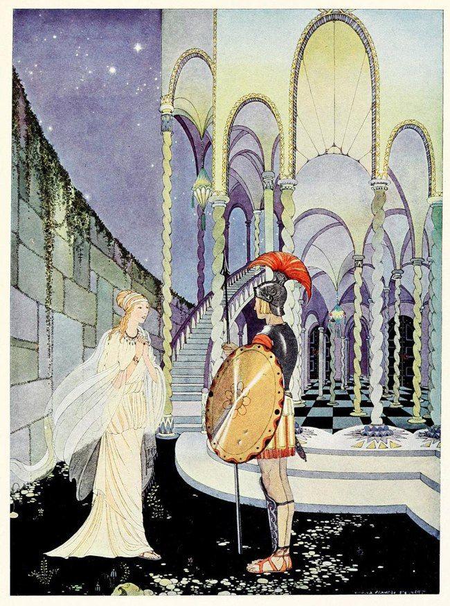 Иллюстрации Вирджинии Фрэнсис Стеррет (1900–1931) в 2019 г ...