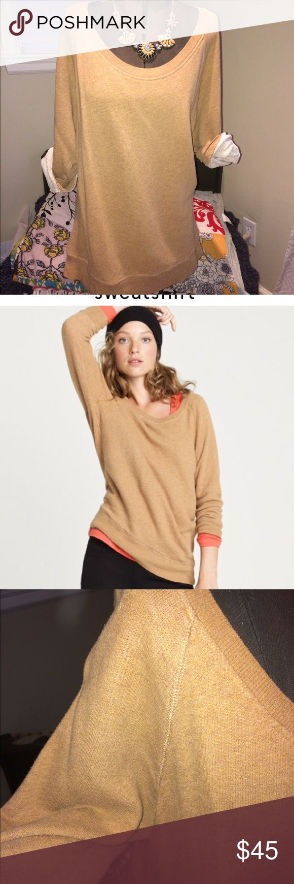 "J Crew slouchy dolman sleeve sweatshirt Slouchy J Crew dolman sleeve sweatshirt. Extremely comfortable. Can be worn with leggings or dressed up. In great condition with minimal piling (shown in last pic). 26.5"" long J. Crew Sweaters Crew & Scoop Necks"