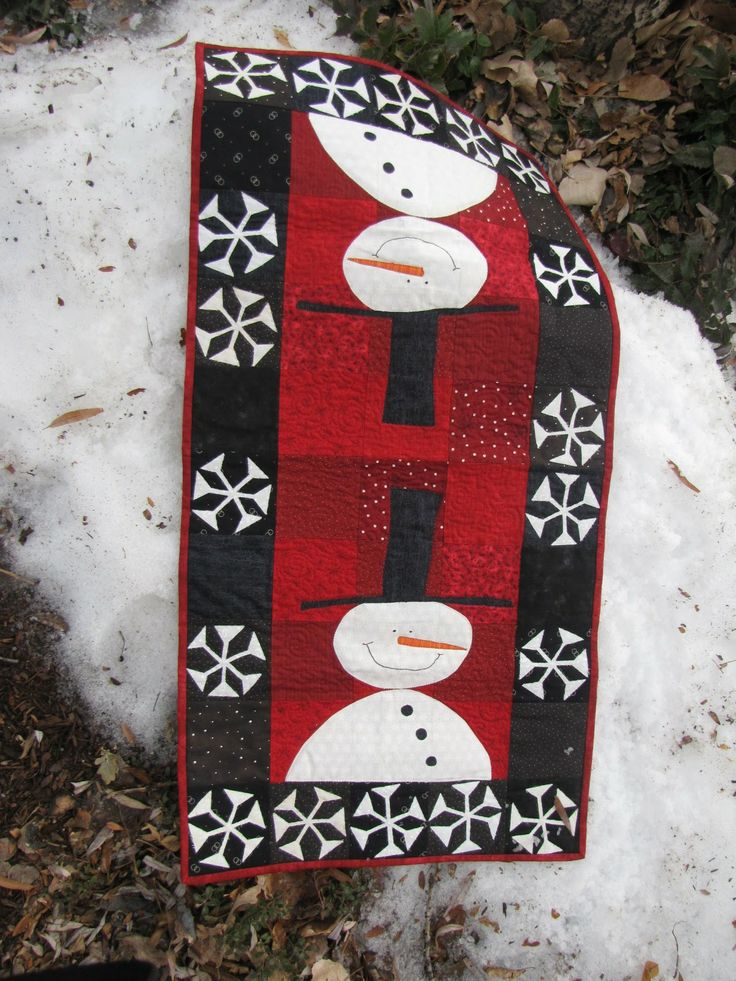 snowman quilt patterns | timeless reflections: January Quilt Show